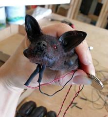 Bat cave build (Pywackyt) Tags: wiring electronics props bats sculpting texturing setdec scenicdesign setdecorating setbuilds