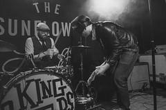 Black Mekon @ The Sunflower Lounge 1 (preynolds) Tags: blackandwhite rock drums mono concert birmingham punk raw dof mask stage garage gig livemusic noflash drummer southside drumming alternative bassplayer mark2 bassguitarist tamron2470mm canon5dmarkii counteractmagazine