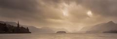 St Herbert's Island, Catbells, Derwentwater, Lake District (Mike Blythe) Tags: longexposure mist water landscape lakes hills workshop lee boathouse 2015 5d3