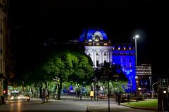 Centro Cultural Kirchner (BernardoAméstica) Tags: street city argentina night noche arquitectura buenosaires urbano calles