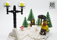 Mr Tumnus (mikechiu86) Tags: snow lego mr witch lion narnia series wardrobe custom aslan chronicles faun minifigure moc tumnus