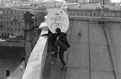 my city (sele3en) Tags: roof streetart film rooftop analog 35mm graffiti action tag grain d76 roofs urbanart vandal saintpetersburg tagging bombing 35mmphotography urbanlife expiredfilm spb 2014 selfdevelopment streetbombing streetphotogrpahy homedevelopment graffitibombing graffitirooftop saintp graffitiphotography d76processhome saintpetersburgrooftop