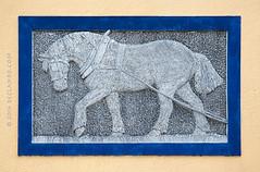 The Working Horse (sbox) Tags: ireland horses sculpture horse irish art stone grandcanal towing barges kildare roberstown bridnirinn