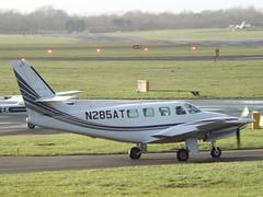 N285AT Cessna Crusader 303 (Aircaft @ Gloucestershire Airport By James) Tags: james airport gloucestershire crusader cessna lloyds 303 n285at egbj