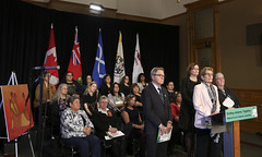 IMG_0801  Premier Kathleen Wynne made an announcement of funding on the Ending Violence Against Indigenous Women Strategy. (Ontario Liberal Caucus) Tags: zimmer aboriginal indigenous meilleur violenceagainstwomen indigenouswomen jaczek maccharles svhap