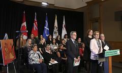 IMG_0801  Premier Kathleen Wynne made an announcement of funding on the Ending Violence Against Indigenous Women Strategy. (Ontario Liberal Caucus) Tags: zimmer aboriginal indigenous meilleur violenceagainstwomen indigenouswomen jaczek maccharles svhap