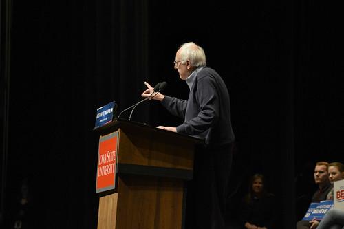 Bernie Sanders at ISU - 1/25/2016, From FlickrPhotos
