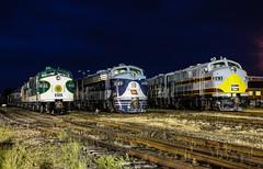 Steamliners at Spencer flashback (Kyle Yunker) Tags: railroad railway southern f delaware spencer wabash lackawanna dlw unit emd streamliners