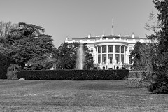The White House (jed52400) Tags: blackandwhite hdr usgovernment thewhitehouse