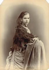 Beautiful Victorian girl (sctatepdx) Tags: portrait oldportrait victoriangirl victoriandress vintageportrait victorianportrait