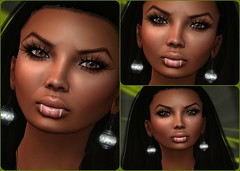 Chocolate Diamond Eyes Collage (melyna.foxclaw) Tags: sky mg figment ra lotd egyptianqueen unitedcolors idoleyes earthstone earthstonesjewelry meghindos