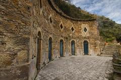 Rennes les Bains - old Roman baths (-dangler) Tags: old travel france spring europe roadtrip historic renneslesbains dandangler oldromanbaths
