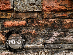 Hi-RES CC Rome Brick Wall (facebook.com/bibleversephoto) Tags: desktop red wallpaper italy white black rome brick texture stone typography is high dynamic god 10 8 lord christian hires creativecommons bible resolution range hdr nehemiah strenght verse 810 strengt