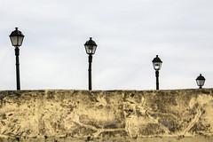 Cuatro hermanas (fertraban) Tags: light four cuatro farola gijn 4 asturias farol farolas cimadevilla xixn cimavilla