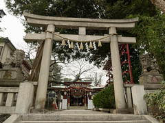 P1070727Lr (photo_tokyo) Tags: japan tokyo jp  shinagawa      oosaki irugishrine