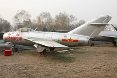 Mikoyan-Gurevich MiG-15, PLAAF (nickchalloner) Tags: china museum airplane army force aircraft aviation air chinese beijing aeroplane peoples liberation mig aerospace gurevich mikoyan changping mig15 fagot mikoyangurevich xiaotangshan plaaf chinaaviationmuseum datangshan