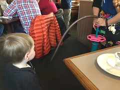 "Paul Gets a Balloon Dog at Egg Harbor • <a style=""font-size:0.8em;"" href=""http://www.flickr.com/photos/109120354@N07/24798553476/"" target=""_blank"">View on Flickr</a>"