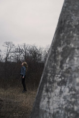 (KaylaSavage_) Tags: selfportrait girl self model powerlines selfie
