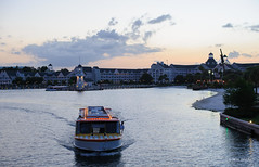 Sunset Cruise (ddindy) Tags: orlando florida disney disneyworld waltdisneyworld yachtclub crescentlake friendshipboat