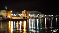 Kenosha Lakefront (PetrographyPhotos) Tags: lighting longexposure nightphotography urban lake lightpainting landscape nightshot sony lakefront urbanlandscape kenosha a7ii