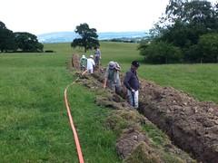 gressingham dig (b4ruralnorth) Tags: yorkshire lancashire jfdi cumbria spades barnstormers heroines b4rn digitalbritain ladiesofgrit