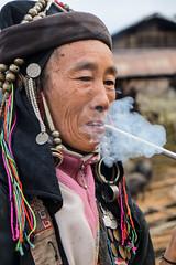 Gandalf's grandma 3 (Laura Jacobsen) Tags: laos hilltribe akha phongsaly phongsali akhanoukouy