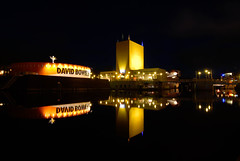Groninger Museum (frata60) Tags: city museum nikon nightshot d200 groningen centrum stad avondfotografie