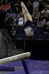 Alex Yacalis floor (13) (Susaluda) Tags: uw sports gold washington university purple huskies gymnastics dawgs