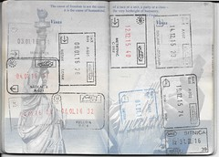 US Passport Multiple Entry/Exit Stamps (Taylor Mc) Tags: usa us europe hungary unitedstates stamps bosnia unitedstatesofamerica serbia croatia stamp romania herzegovina exit passport entry visa kelebia montenegro hercegovina stempel hum schengen bosna bosniaandherzegovina nadlac moravita metkovi doljani bosnaiherzegovina sitnica nagylak epak trbunica