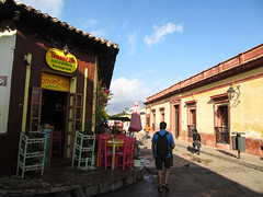"San Cristóbal de las Casas: la rue Real de Gadalupe <a style=""margin-left:10px; font-size:0.8em;"" href=""http://www.flickr.com/photos/127723101@N04/25685243136/"" target=""_blank"">@flickr</a>"
