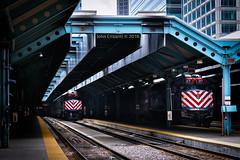 Downtown Chicago at OTC (Colorado & Southern) Tags: railroad chicago illinois railway passenger metra railfan railroads otc commutertrain chicagoillinois railfanning metrastation chicagonorthwestern passengercars ogilvietransportationcenter illinoisrailfanning emdf40ph3 illinoisrailroads illinoisrailfan
