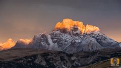 Dolomiten Sunrise (MD-Pic) Tags: italien autumn italy alps sunrise nikon herbst alpen sonnenaufgang dolomites dolomiti dolomiten alpenglhen d7100