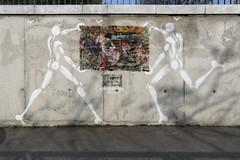 Artiste ouvrier & Jrme Mesnager (Ruepestre) Tags: streetart paris france art graffiti urbanexploration mesnager jrme urbain artiste ouvrier