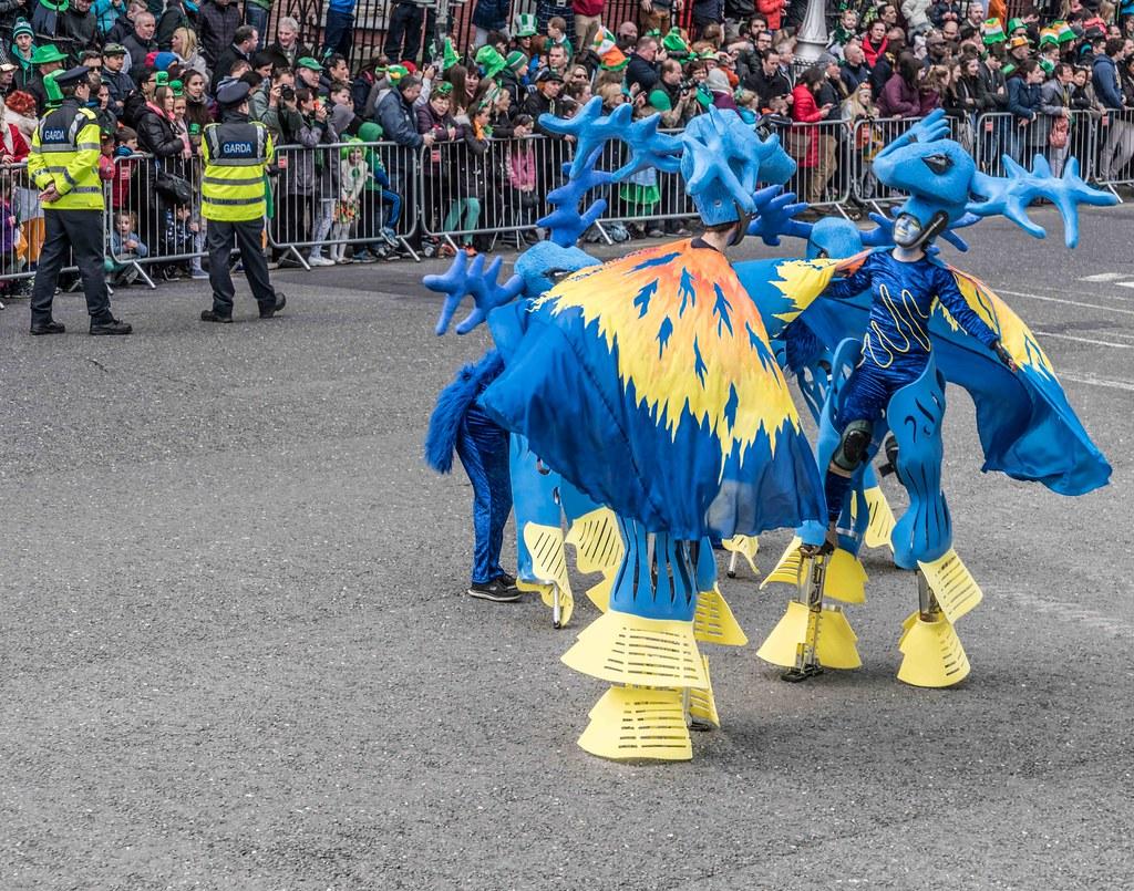 Dowtcha Puppet's At The St.Patrick's Parade [Dublin 2016]-112500