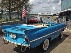 Amphicar Ride at Disney Springs (kittykat7) Tags: car boat florida wdw waltdisneyworld downtowndisney disneysprings amphicarride carboatcombo