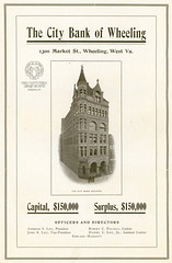 City Bank of Wheeling Advertisement, 1906 (Ohio County Public Library) Tags: advertisement marketstreet banks wheeling citybank wheelingwv professionalbuilding