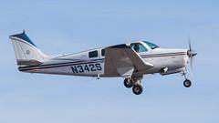 Beech A36 Bonanza N342S (ChrisK48) Tags: 1969 airplane aircraft beechcraft bonanza dvt phoenixaz kdvt beecha36 phoenixdeervalleyairport n342s