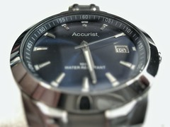Accurist Watch (V.R.V) Tags: blue azul time watch smartphone chrome hora celular wrist accurist pulso selfie relogio cromado snapseed zenfone