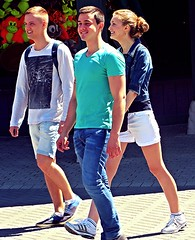 (ManontheStreet2day) Tags: boy crotch twink jeans bluejeans