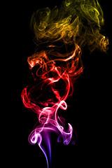 Smoky Rainbow (II AsH II) Tags: motion black colour rainbow movement smoke creative pop colourful manfrotto insence ashleytownsend sigma70200exdgoshsm nikond7100