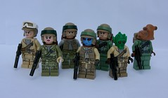 The Pathfinders (FxanderW) Tags: starwars lego custom commando returnofthejedi rebels pathfinders minifigure moc rebelalliance rotj commandoes minifugures