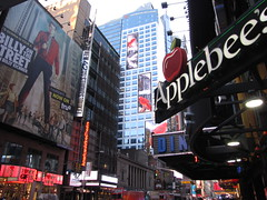 New York City 2016 42nd Street (wheeltoyz) Tags: street new york city apple big applebees manhattan billy 42nd eichner
