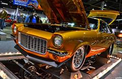 Fusion Bomb (Chad Horwedel) Tags: classic chevrolet car illinois rosemont chevy custom vega worldofwheels chevyvega 1972chevyvega wow2016 fusionbomb