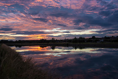 "Sunset at ""Canal du Centre""... [Havr, Belgium - 2015] (Jose Constantino Gallery) Tags: sunset sky cloud outdoors belgium outdoor havre mons 2015 leroeulx rgionwallonne josconstantino joseconstantino"