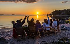 IMGP8263 copy (Tapio Kekkonen) Tags: summer moon beach sunrise sailing hanko subset bech finlad