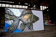 kingsspray 2016 ndsm amsterdam (wojofoto) Tags: streetart art amsterdam graffiti ndsm 2016 dzia ijhallen wolfgangjosten wojofoto kingsspray