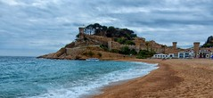 Tossa de Mar (Meino NL) Tags: espaa spain mediterranean catalunya oldtown espagne costabrava spanje tossademar cataloni middellandsezee vilavella