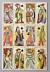 Playing Card tiles, Dorincourt (robmcrorie) Tags: playing club john hearts jack king 1966 surrey queen diamond card tiles 1960s mead industries spade leatherhead dorincourt