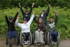 US Paralympic Ski Team at Trillium Lake-Mt Hood (Forest Service - Pacific Northwest) Tags: recreation usforestservice usparalympicteam mthoodnf mthoodnationalforest trilliumlake accessibletrail oregon mthood oregonscascades nationalforest nationalforests outdoorrecreation pacificnorthwest