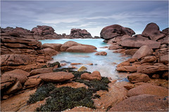 Cte de granite rose (guillaumez.wix.com/photographie) Tags: ocean beach rose rocks bretagne olympus breizh granite perros cote paysage britany ploumanach guirec oceanscape em5